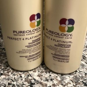 Other - Pureology Perfect 4 Platinum Liter Shamp. & Cond.